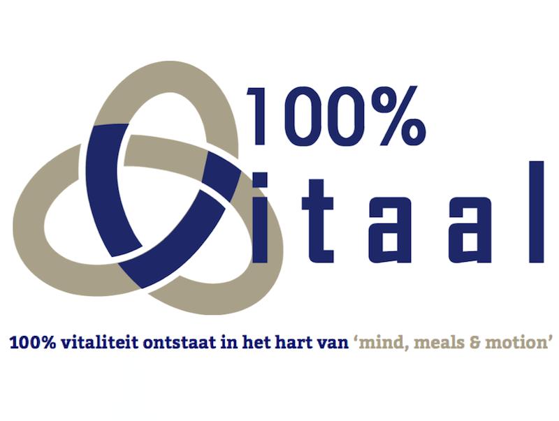 100% Vitaal logo groot