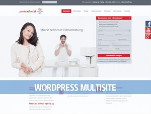 WordPress Multisite PermadentalWordPress Multisite Permadental