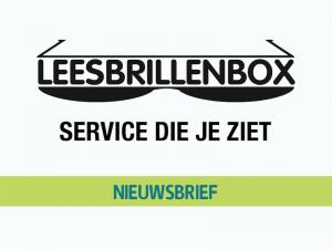 Leesbrillenbox Nieuwsbrief