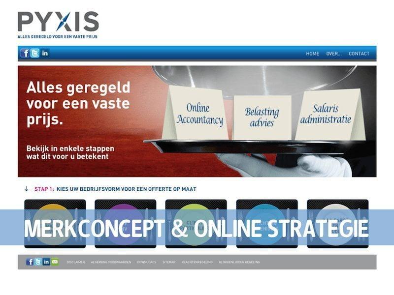 PYXIS Website stap 1