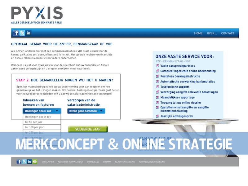 PYXIS Website stap 3