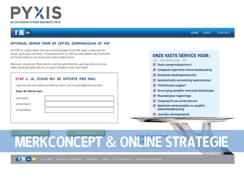 PYXIS Website stap 4