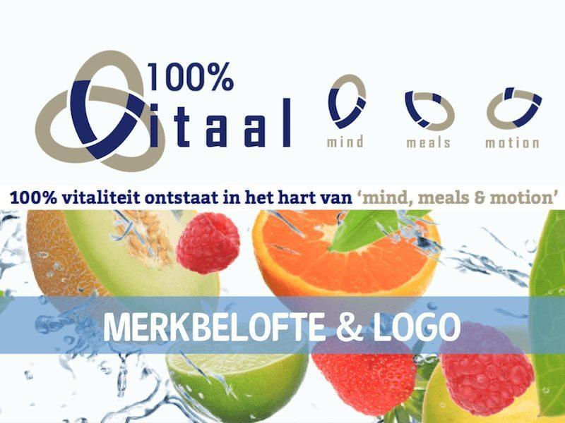 Merk 100%Vitaal logo