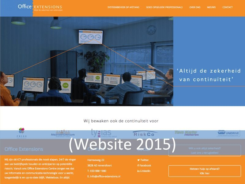Office Extensions website 2015