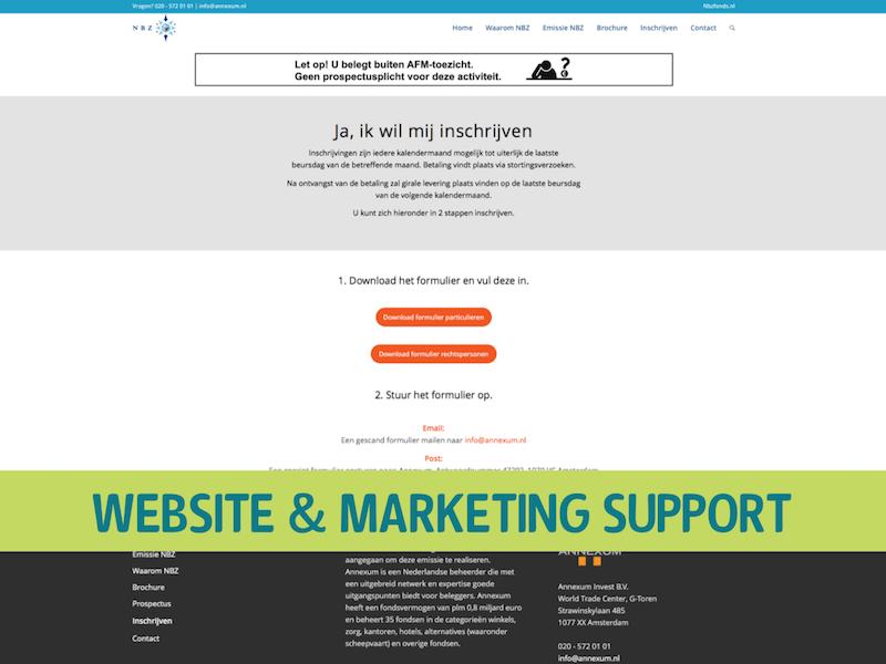 WordPress Multisite gekoppeld aan Pardot