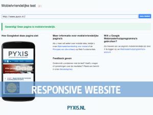 Website volledig responsive