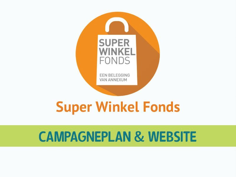 Super Winkel Fonds WordPress Website