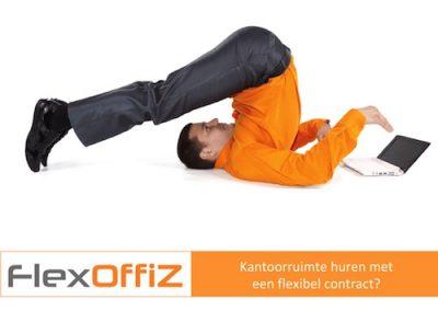 B-advertentie Kantoorruimte huren met een flexibel contract?